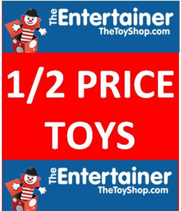Half Term 1/2 Price Toys at The Entertainer
