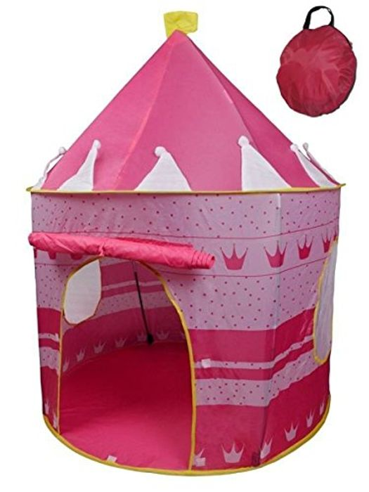 Pop up Castle Play Tent £10.44 + FREE DELIVERY