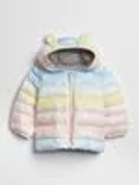 Babies Ombr Puffer Jacket - Save £20