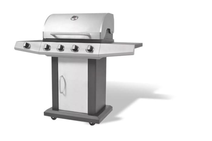 5-Burner Gas Barbecue Grill