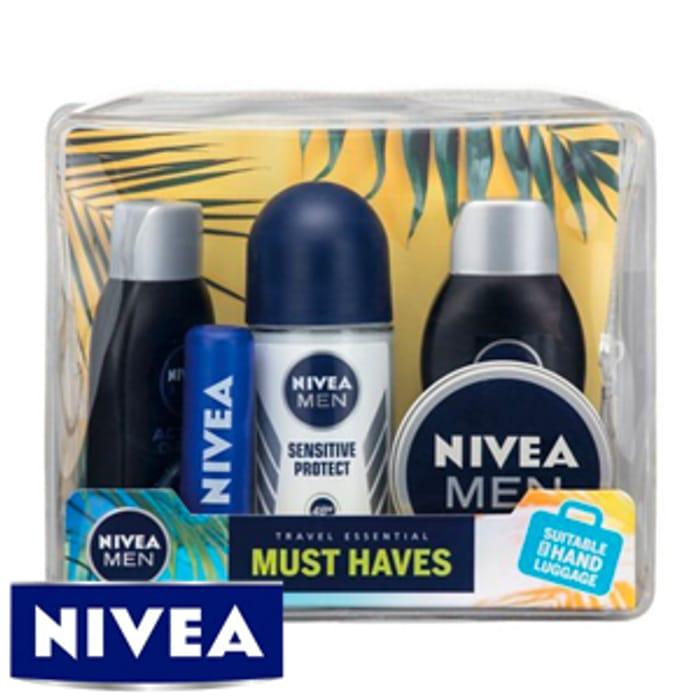 NIVEA MEN Must Haves Travel Essentials Set ( Instore + Online)