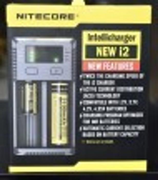 Nitecore I2 Intelligent 18650 26650 AA AAA Authentic Vape Battery Charger