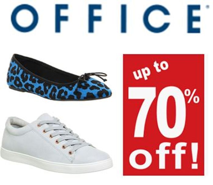 SHOE SALE at OFFICE - up to 70% OFF