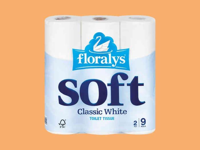 Lidl 9 Pack Toilet Tissue