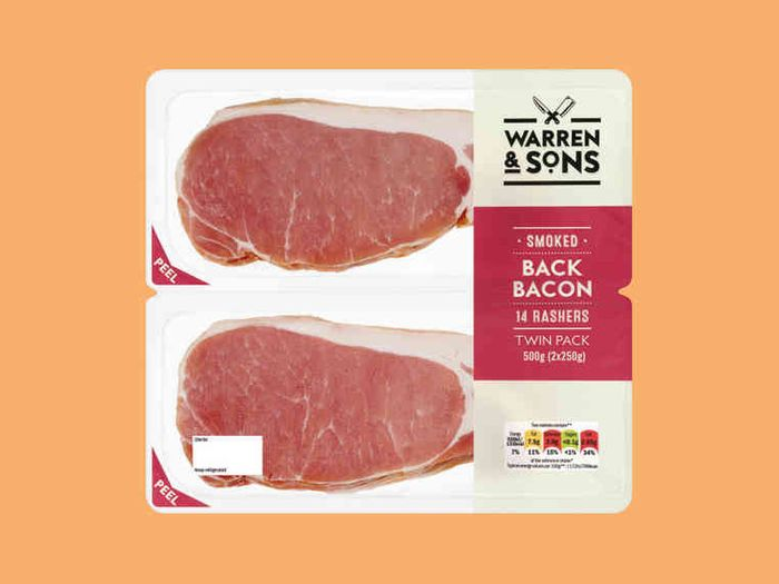Lidl 2 Pack 500g Bacon