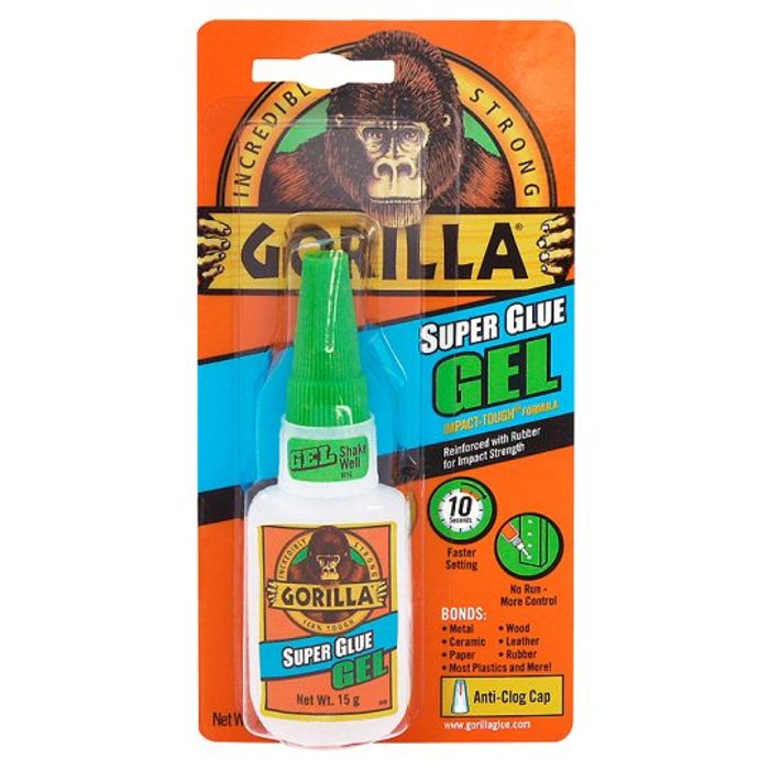 Gorilla Super Glue Gel 35%off at Tesco Instore & Online