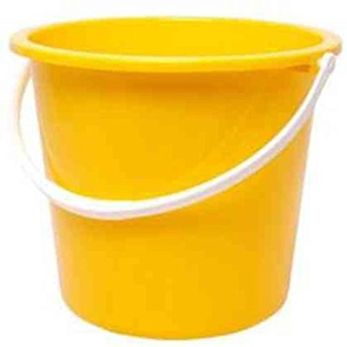 Yellow Plastic Bucket Just £1.91 (Prime Delivery)