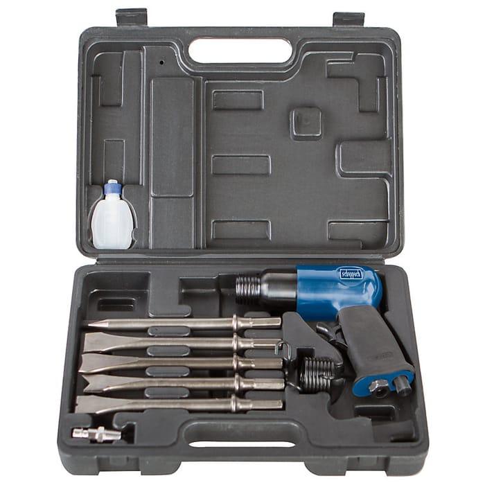 Scheppach 10 Piece Air Hammer Kit
