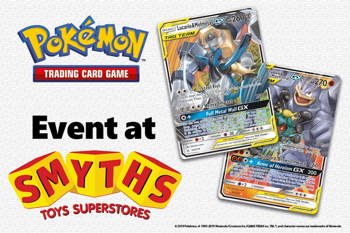Free Pokemon Trade & Play Events at Smyths Toys Superstores