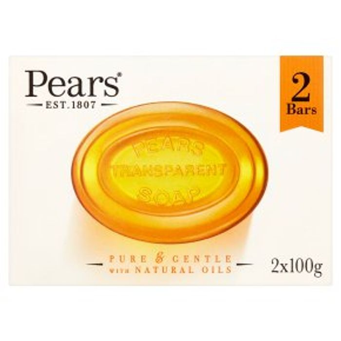 Pears Transparent Soap2x100g - 33% Off!