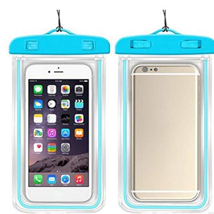 Practical Portable Waterproof Phone Bag with Lanyard Cases