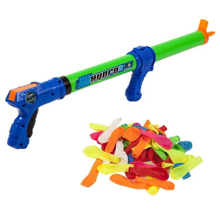 Zuru Water Blaster Gun Squirter Pistol Hydro Shooter Pump Kids Pool Toy Outdoor