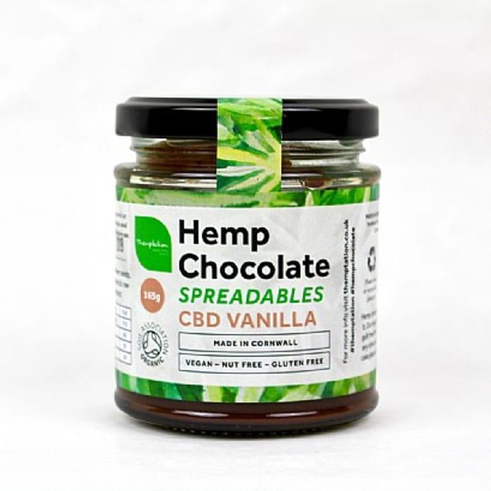Themptation Hemp Chocolate Spreadbles - CBD Vanilla (165g) - 20% Off