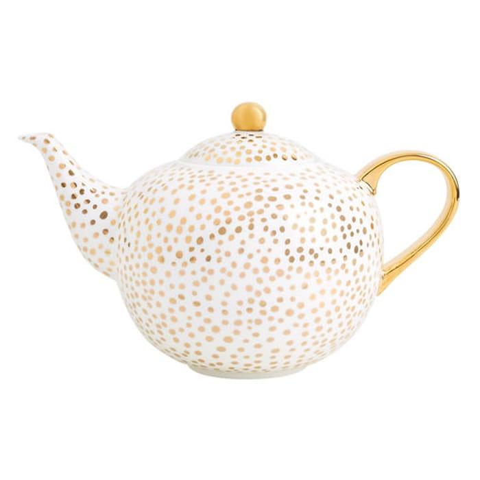 Porcelain Teapot: More Sleep - 60% Off