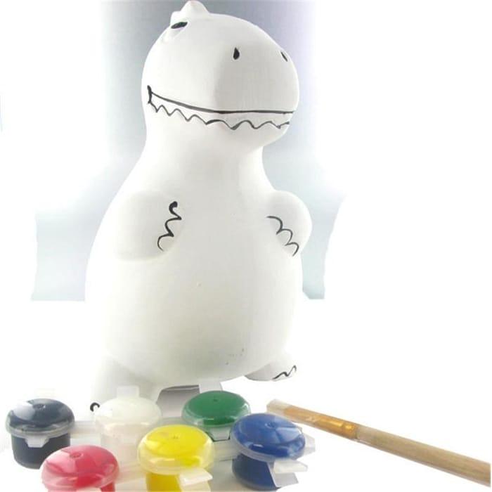 ROARRRRR! Paint Your Own Dinosaur Money Box