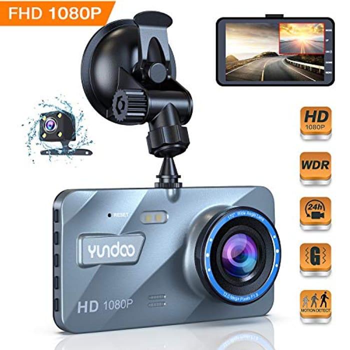 Dual Dash Cam 1080p Full HD - Save 50%