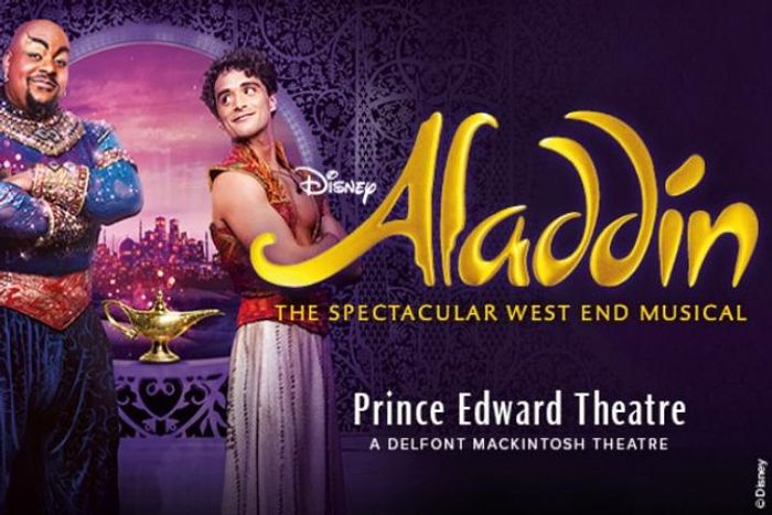 Aladdin the Musical London Theatre Show & 24hr Hop-on Hop-off River Cruise Pass