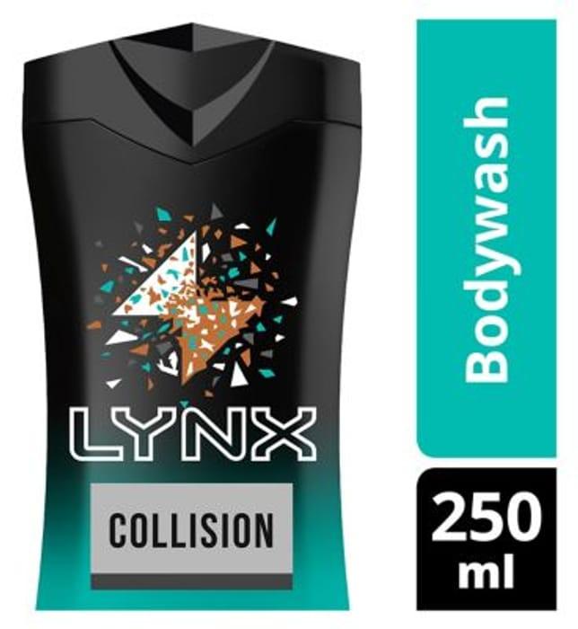 Lynx Leather & Cookies Shower Gel 50% off (Shopmium cashback)