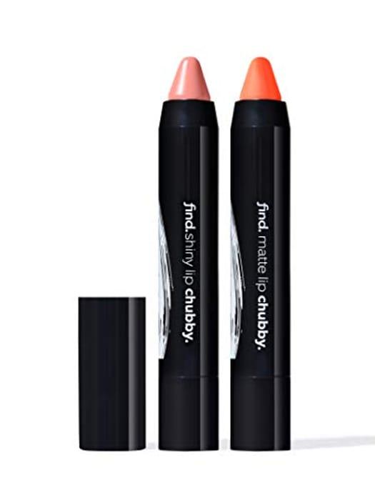 Lip Kit - Sunkissed Secret (Chubby Shiny Lipstick and Chubby Matte Lipstick