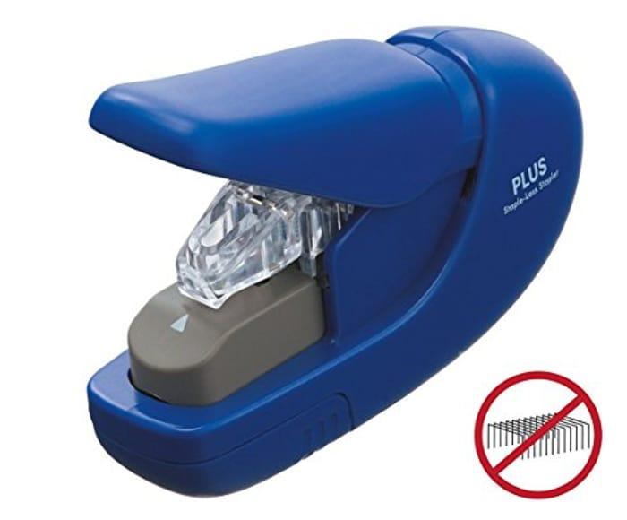 PLUS Japan, Staple-Free Stapler Blue
