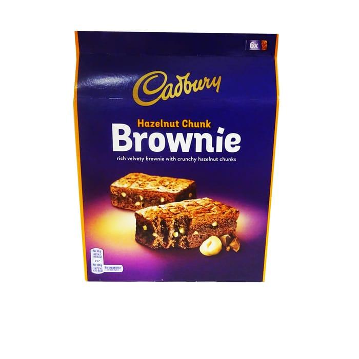 Cadbury Hazelnut Chunk Brownie 6 Pack