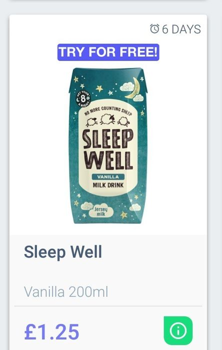 Sleep Well Vanilla Drink