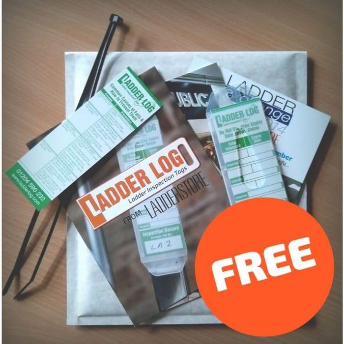 Free Ladderstore Ladder Log Sample Pack ( Trade Only )