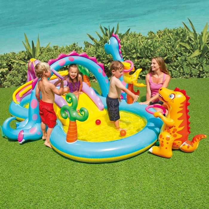 Intex Dinoland Play Centre at Smyths Toys Superstores