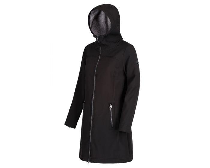 Alinta Long Length Softshell Jacket Black