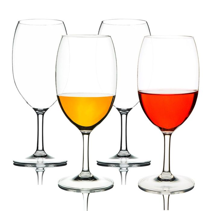 Deal Stack - Wine Glasses - 58% off + Extra 5%