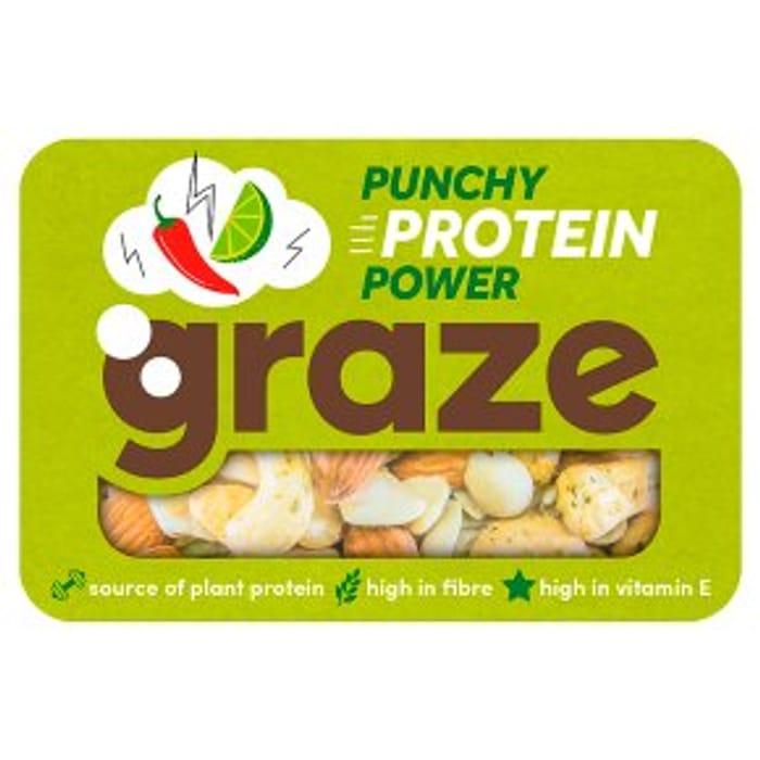 Graze Punchy Protein Nuts 41g - HALF PRICE