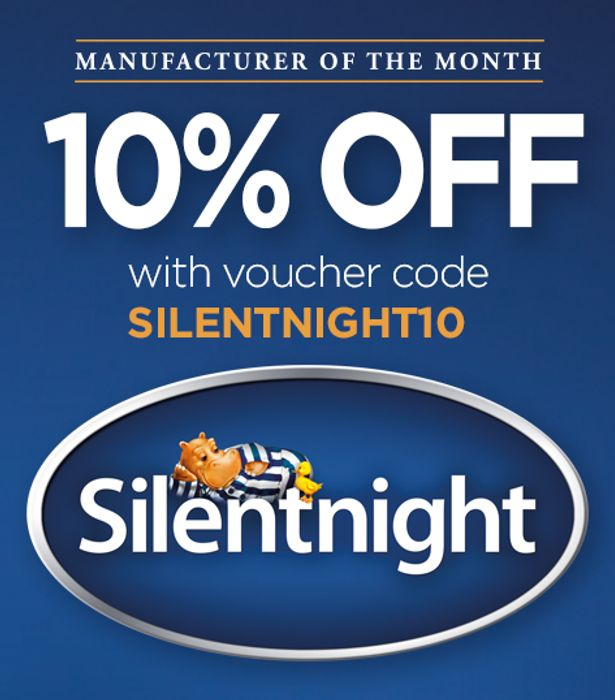 Extra 10% off Silentnight Mattress Orders