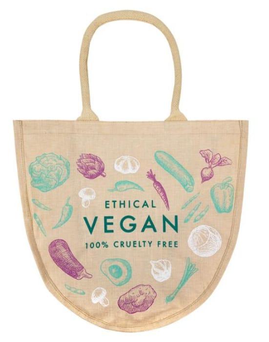 Vegan Bucket Jute Bag at Whistlefish Only £2.45