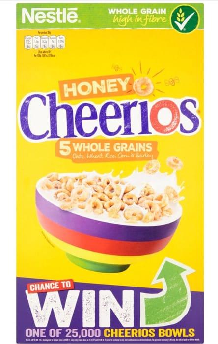 Nestle Cheerios Honey
