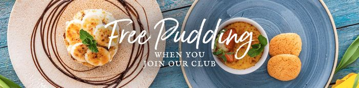 Sign up for a FREE PUDDING