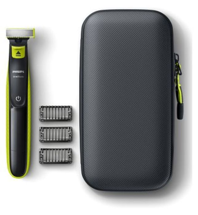 *BETTER than HALF PRICE*Philips OneBlade Hybrid Trimmer with Travel Case