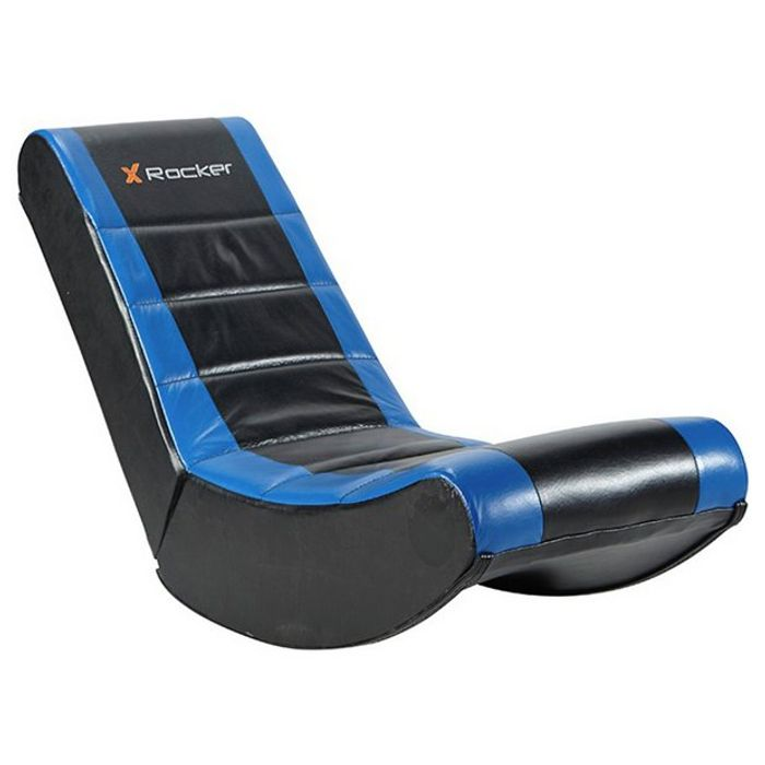 X-Rocker Gaming Chair - Black and Blue
