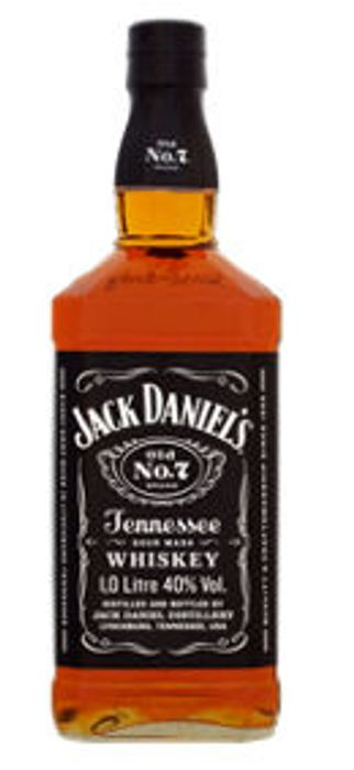 Jack Daniel's Old No. 7 Tennessee Whiskey 1Ltr