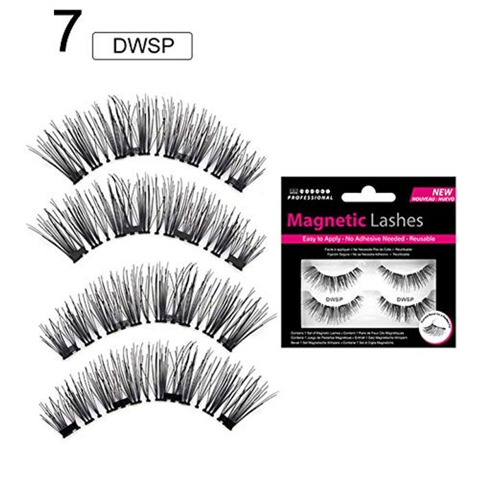 2 Pairs Magnetic Eyelashes 1.99 Delivery