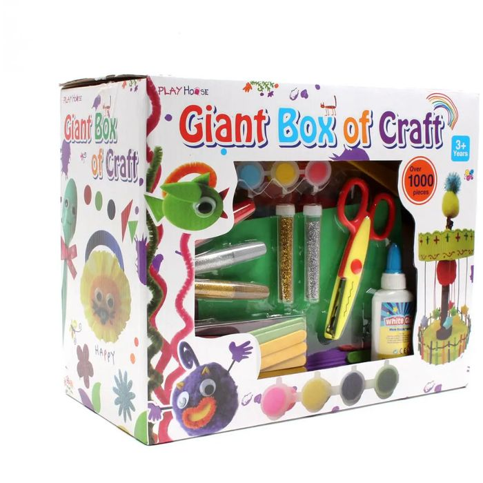 Giant Box of Craft 1000 Pieces