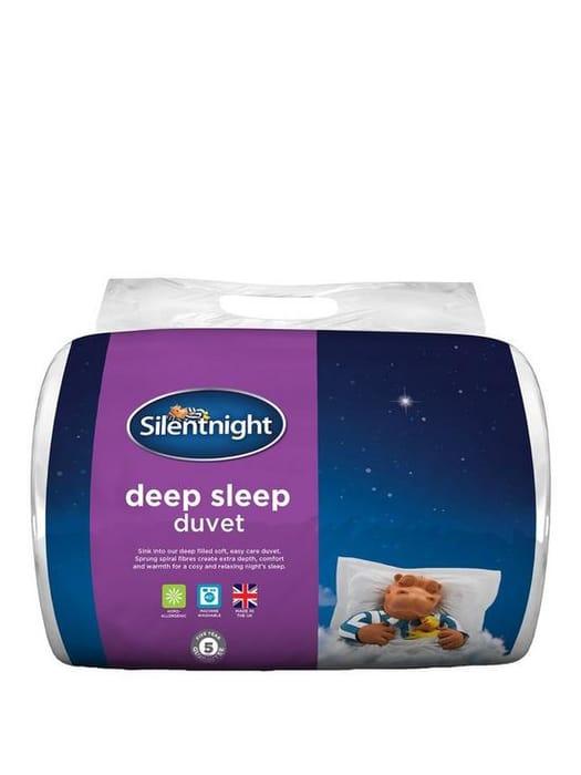 Silentnight Deep Sleep 10.5 Tog Duvet