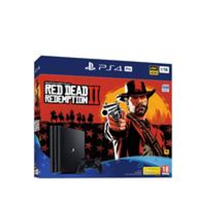PlayStation 4 Pro Red Dead Redemption 2 1Tb Console Bundle EXTRA £30 BACK