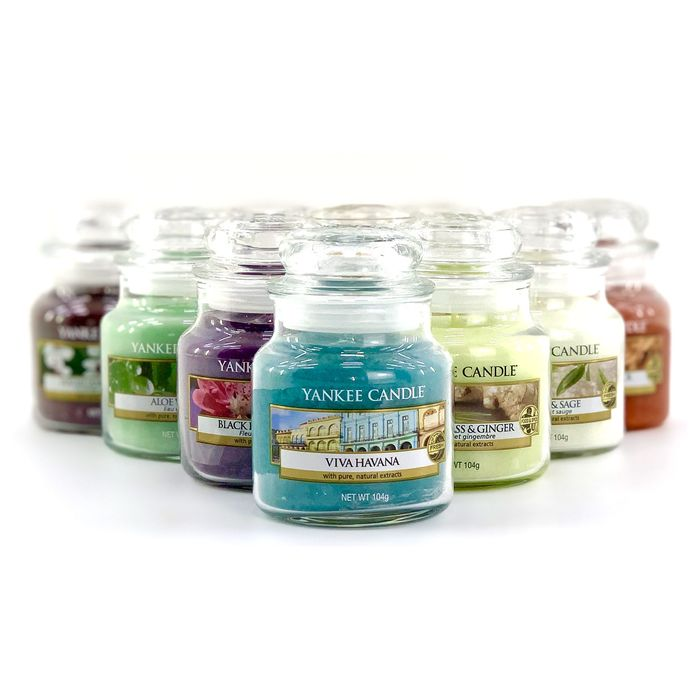 3 Assorted Yankee Candle Small Jars