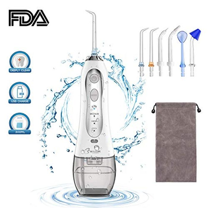 Price Drop!Water Flosser Professional Cordless Oral Irrigator for £16.79