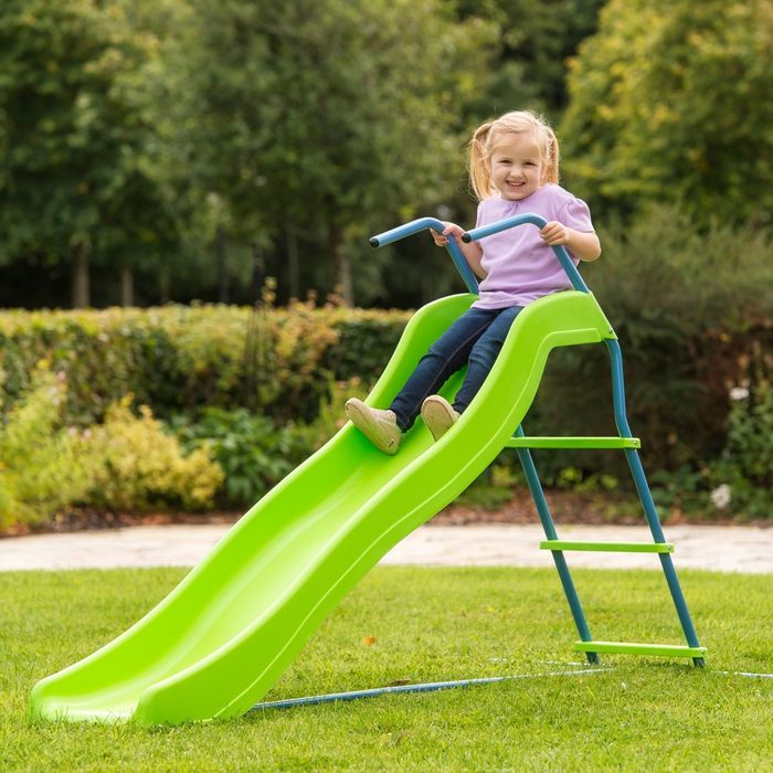 Cheap 5.8ft Wavy Kids Slide at Smyths Toys Superstores, Only £49.99!