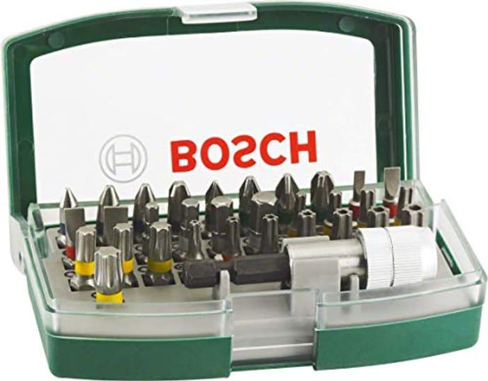 Bosch 32 Piece Screwdriver Bit Set £7.95