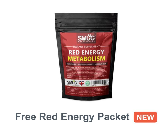 Free Red Energy Packet