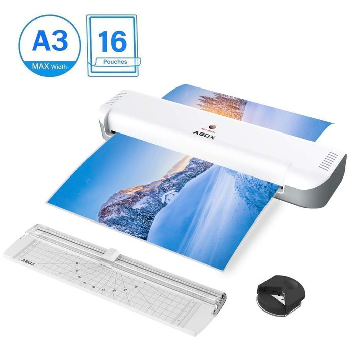Deal Stack - ABOX A3 Laminator - 35% off + Extra £5