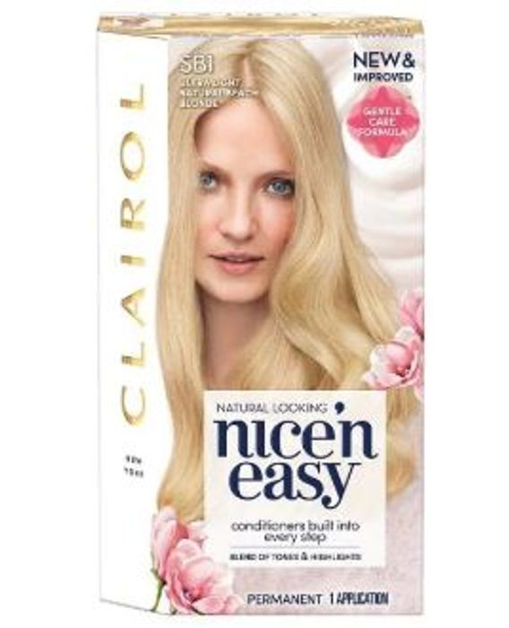 Deal Stack - 2 Nice'n Easy Hair Colours, Tote Bag and 6 Hair Ties for £10
