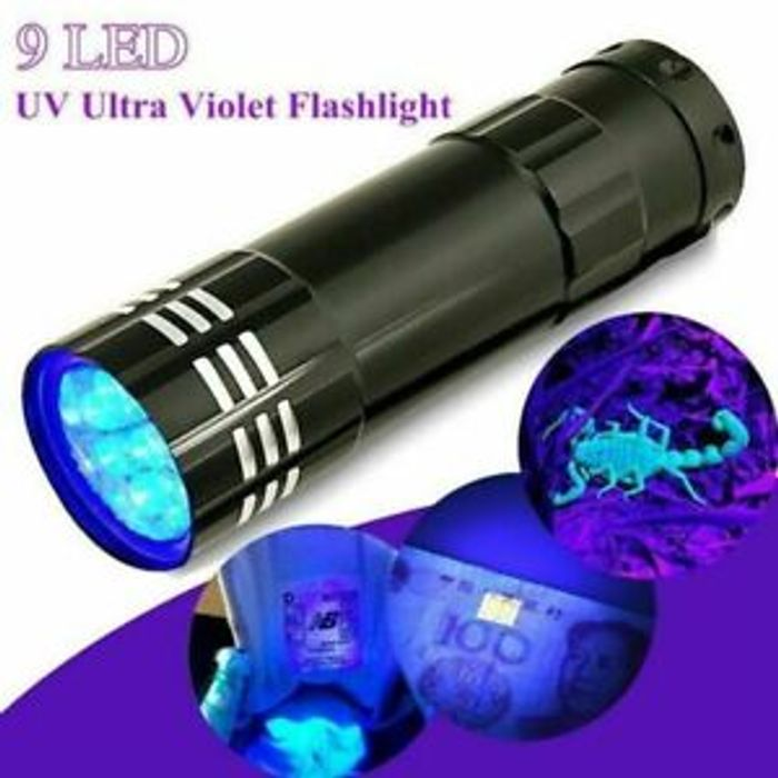 Mini Aluminum UV Torch